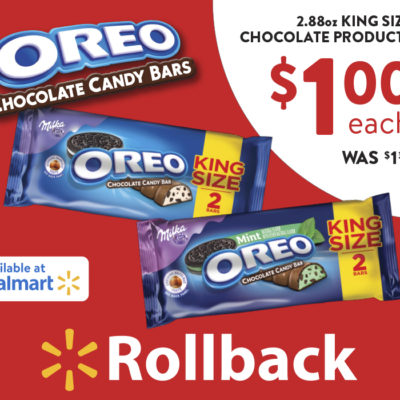 OREO Chocolate King Size Candy Bars~Rollback Price!