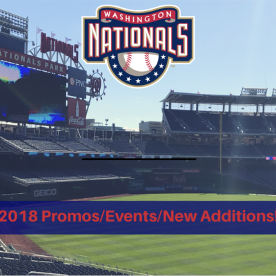 Washington Nationals 2018 Promos/Events/New Additions!