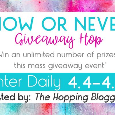 Now or Never Giveaway!
