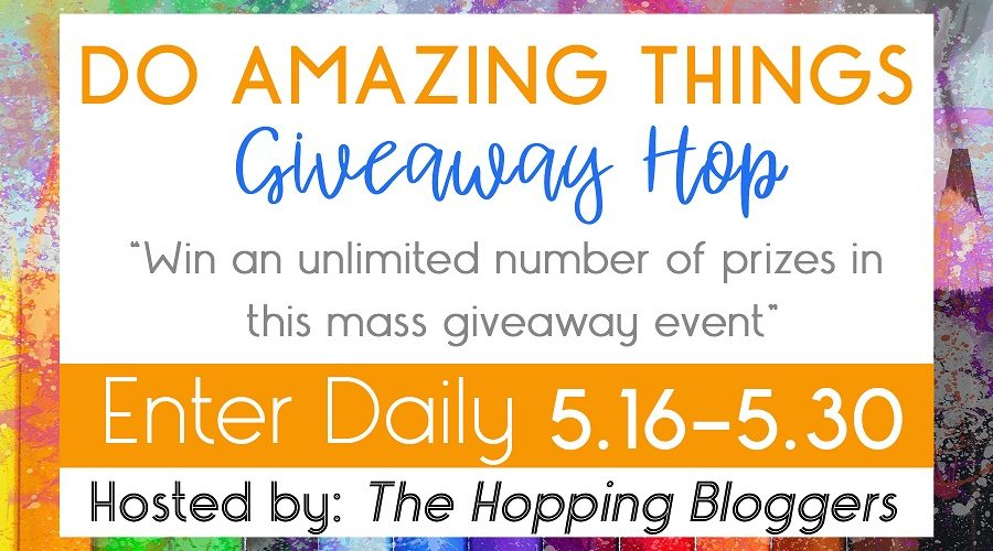 Do Amazing Things Giveaway!