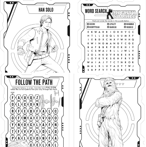 SOLO: A STAR WARS STORY ~ Activity Sheets! - Mom the Magnificent