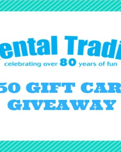 Oriental Trading $50 Gift Card Giveaway!