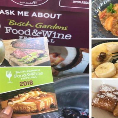 Busch Gardens Food & Wine Festival 2018!