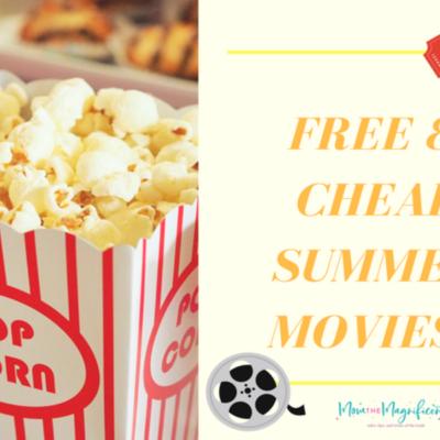FREE & CHEAP Summer Movies 2018!