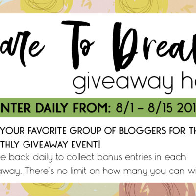 Dare to Dream Giveaway!