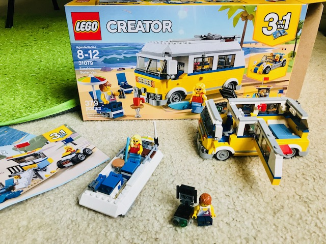 LEGO~ Summer Fun with the Sunshine Surfer Van! - Mom the Magnificent