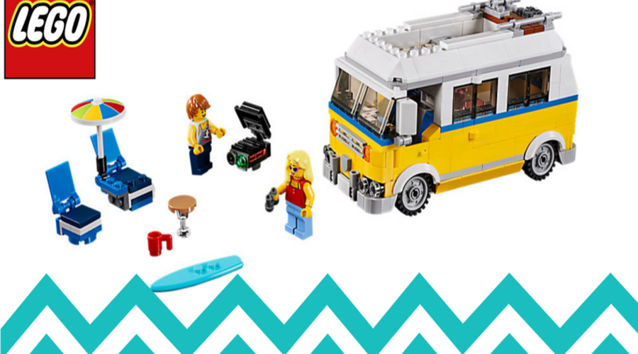 LEGO~ Summer Fun with the Sunshine Surfer Van!