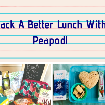 Pack A Better Lunch With Peapod!