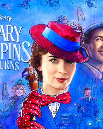 New Character Posters & Sneak Peek from Disney's MARY POPPINS RETURNS!