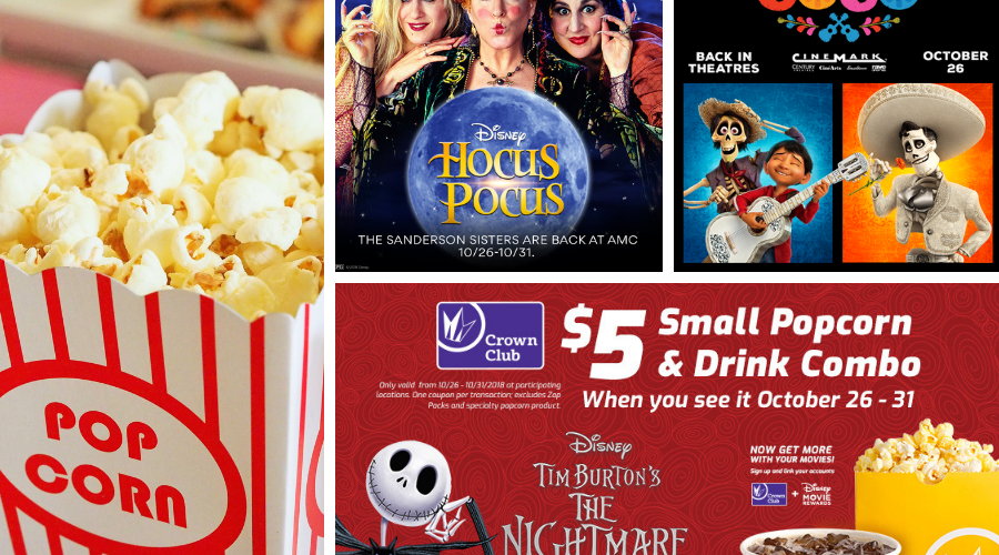 THE NIGHTMARE BEFORE CHRISTMAS, HOCUS POCUS & COCO Return to Theaters Halloween Weekend!