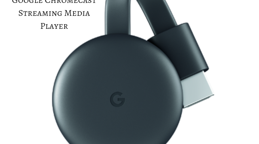See It, Stream It ~ Google Chromecast Streaming Media Player