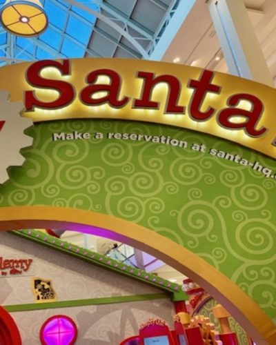 Visit Santa HQ At Tysons Corner Center!