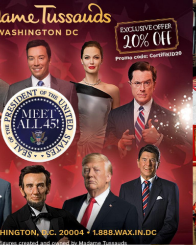 Family Fun at Madame Tussauds ~ Discounted Tickets!