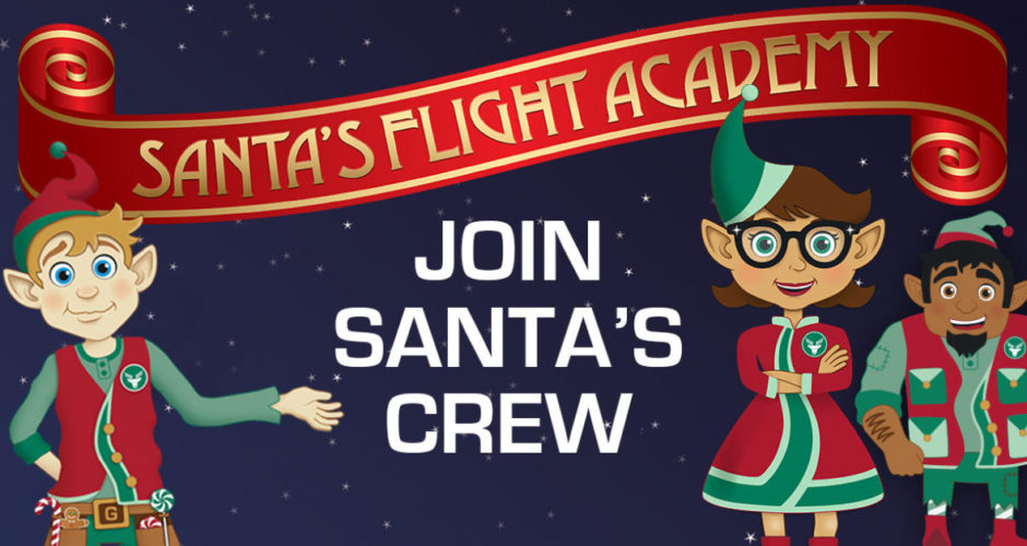 Santa's Flight Academy Returns to Fair Oaks Mall this Holiday Season