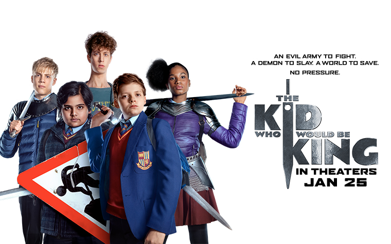 THE KID WHO WOULD BE KING – Free Passes to DC Screening