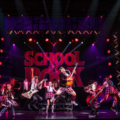 SCHOOL OF ROCK at The National Theatre