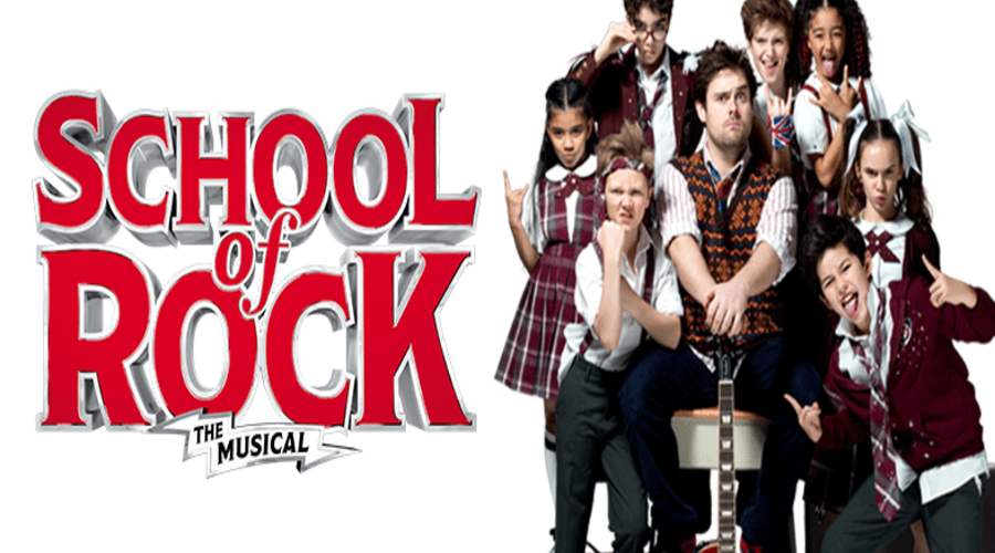 SCHOOL OF ROCK– The Musical + Special Offer!