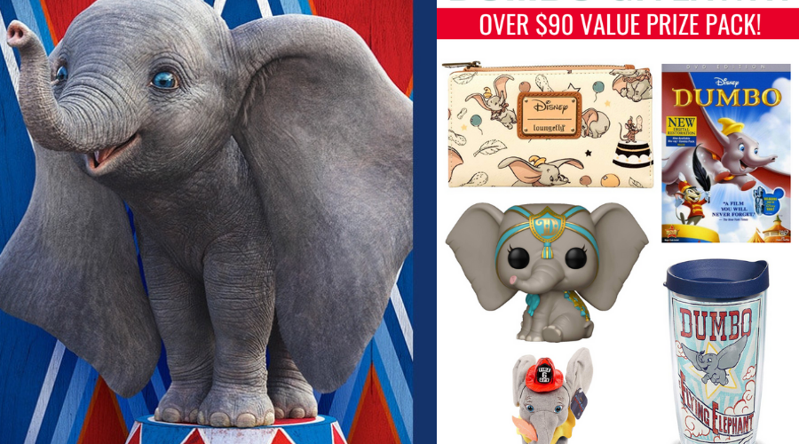 Win A Dumbo Prize Pack!