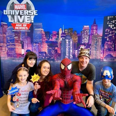 Families Assemble! See Marvel Universe LIVE! Age of Heroes