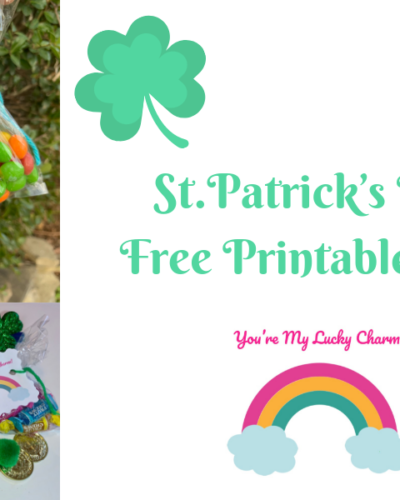 St. Patrick's Day Printable Tag