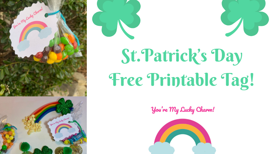 St. Patrick's Day Printable Tag