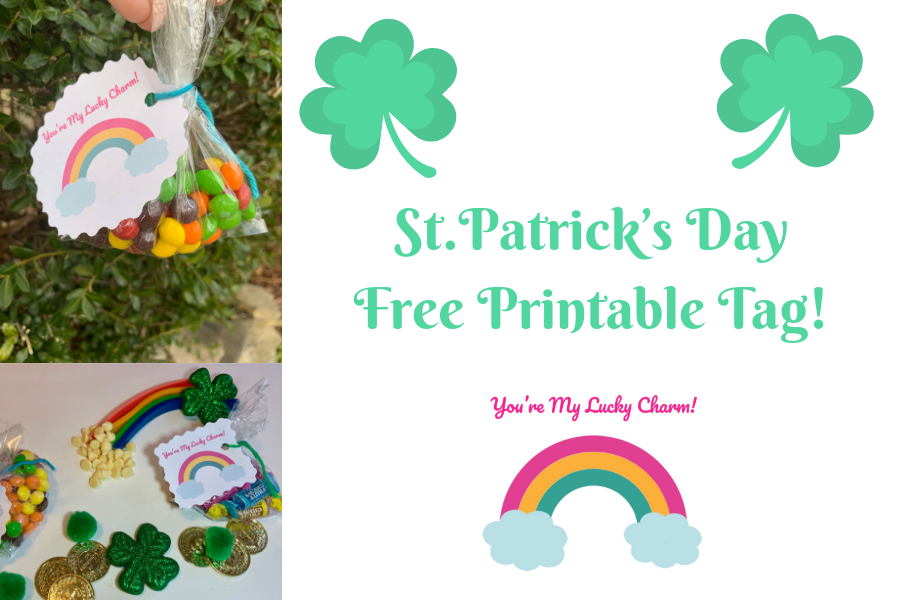 picture about St Patricks Day Printable called St. Patricks Working day Printable Tag - Mother the Amazing
