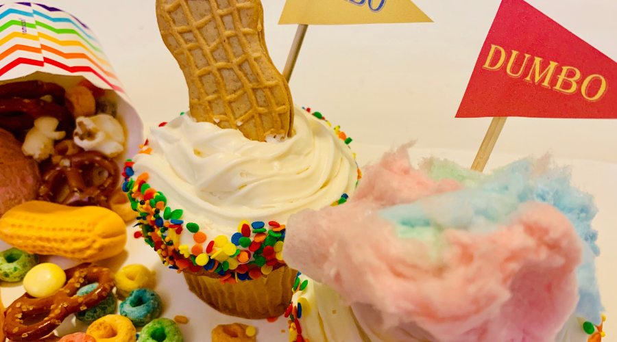 Delicious Dumbo Cupcakes & Circus Mix