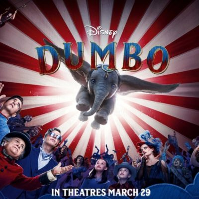 Step Right Up And See Dumbo, The Flying Elephant!