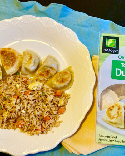 Veggie Fried Rice & Vegan Dumplings!