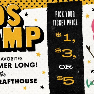 Kids Camp at the Alamo Drafthouse