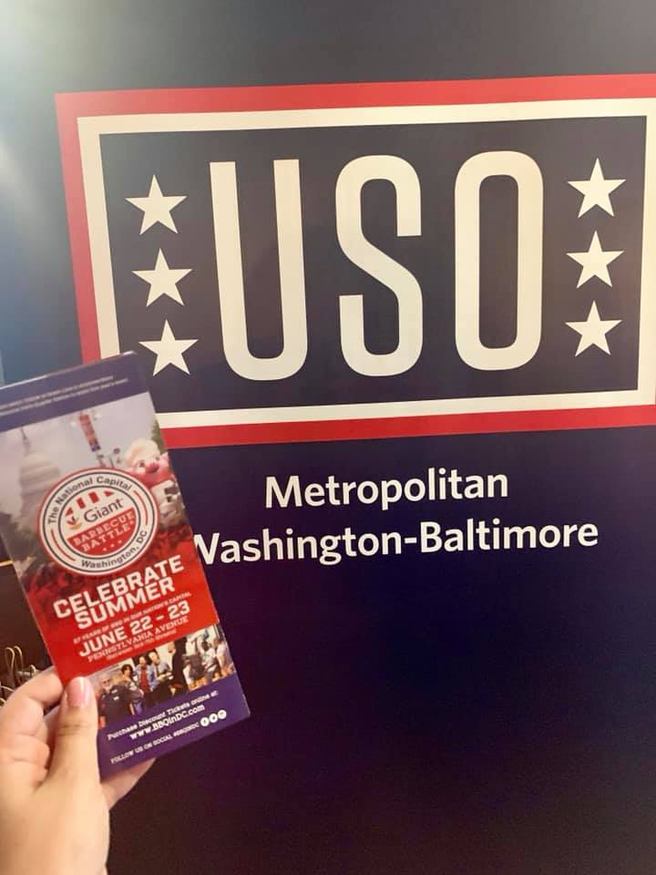 Join Giant, Help Support the USO! - Mom the Magnificent