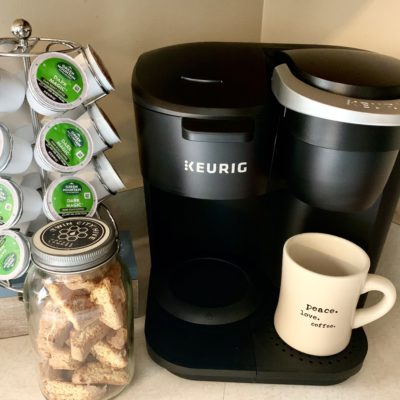 Make theKeurig® K-Duo Essentials™ Coffee Maker the MVP of Your Mornings!