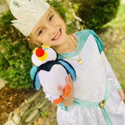 The Swan Princess Costume & Activity Sheet