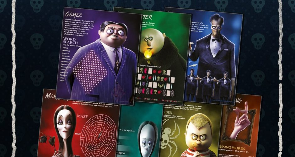 The Addams Family   Free Activity Book & more!