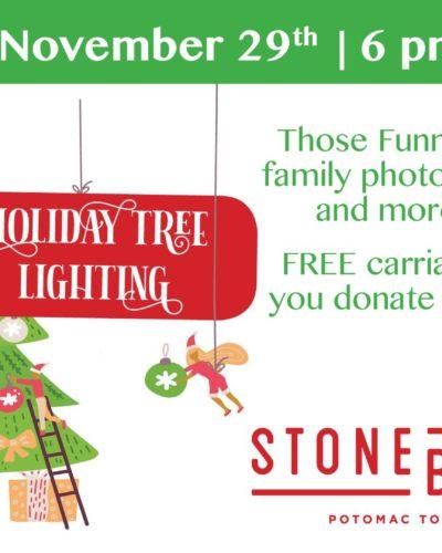 Holiday Tree Lighting at Stonebridge