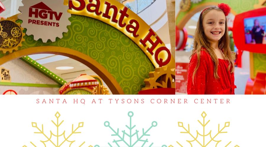 Visit Santa at Santa HQ in Tysons Corner Center!