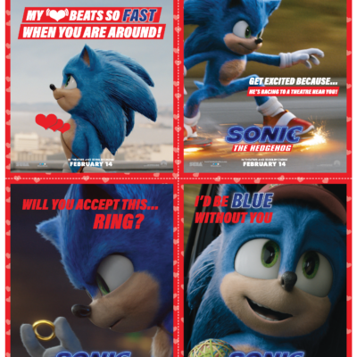 Spread the Sonic Love this Valentine's Day!