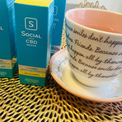 Relax and Recharge with Social CBD Broad Spectrum Drops
