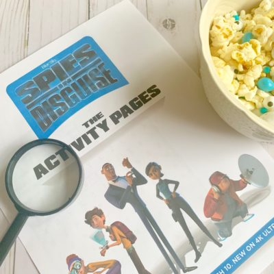 Spies In Disguise Movie Night – Pigeon Party Mix