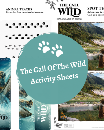 The Call Of The Wild -Bookmark, Maze, & More!