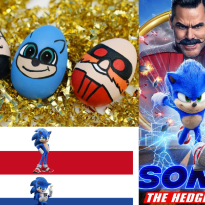 SONIC THE HEDGEHOG Easter Activities