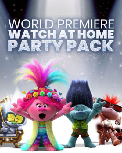 TROLLS World Tour -Watch at Home Activity Pack & More!
