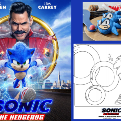 Bring Sonic The Hedgehog Home Today!