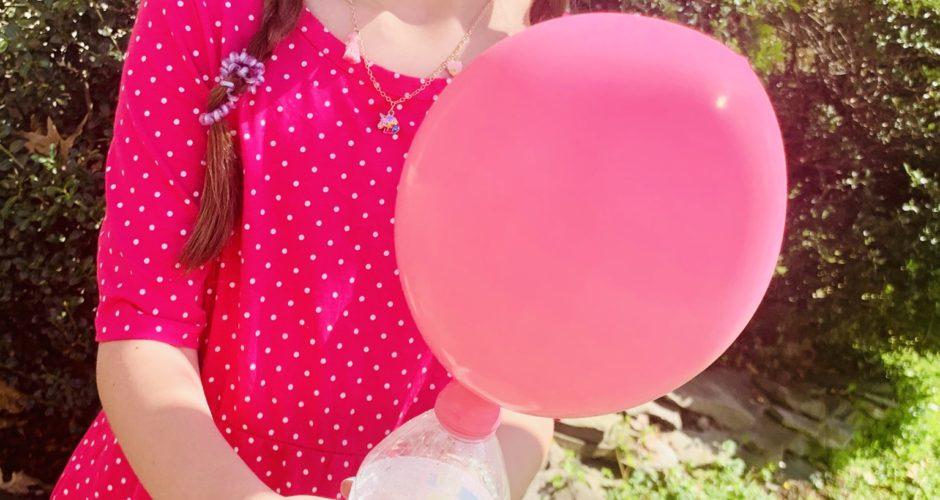 Baking Soda and Vinegar Balloon Experiment ~ At Home Science