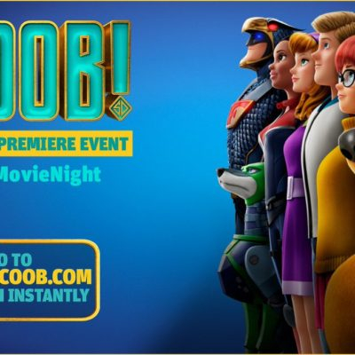 SCOOB! Movie Night Premiere & Activity Pack!