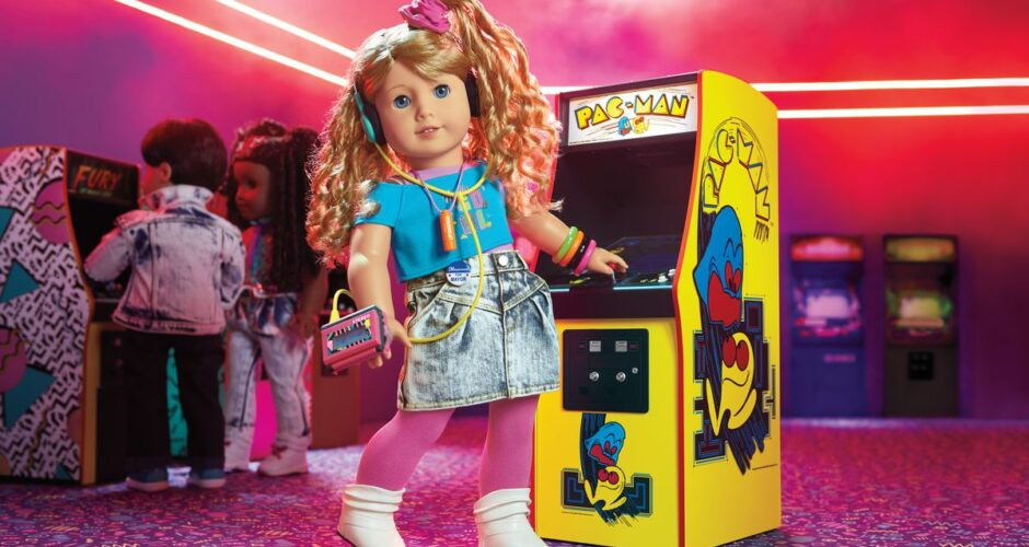 American Girl Doll Courtney is Totally Rad!