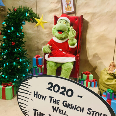 Visit The Grinch to Un-Celebrate 2020