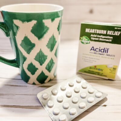 Homeopathic Heartburn Relief with Acidil