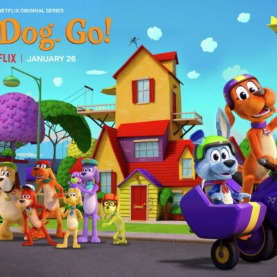 Go, Dog. Go! Now on Netflix