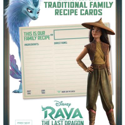 Raya and the Last Dragon- Bonus Features & New Activities